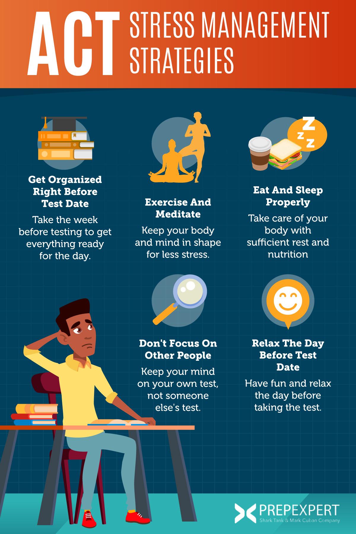 5 ACT Stress Management Strategies | Prep Expert